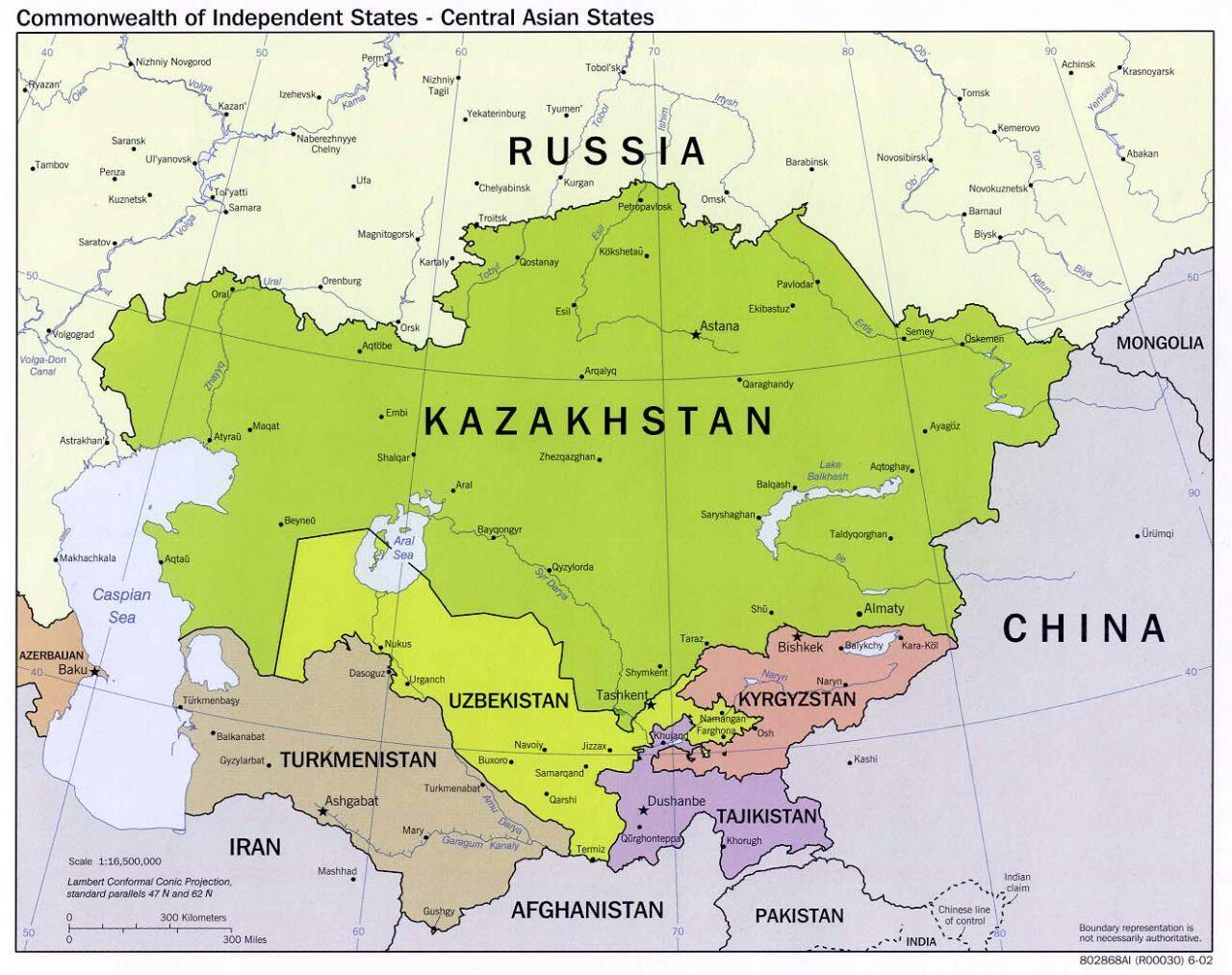 uzbekistan karta Uzbekistan karta Azije   Uzbekistan karta Rusije (Središnja Azija  uzbekistan karta